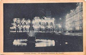 El antiguo Cabildo de Noche Buenos Aires Argentina Unused