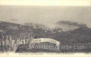La Principaute de Monaco La Turbie, France, Carte, Unused