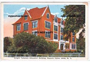 Knight Templars, Masonic Home, Utica NY