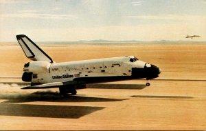 California Edward's Air Force Base Columbia Returns To Earth