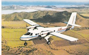 LIAT Airlines Airplane, 23 Island service, Coolidge airport ,Antigua , 40-60s