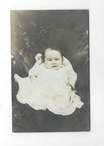 Vtg 1904-1920's Cyko RPPC Baby Elmer Photo Postcard