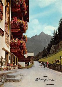 Mayrhofen Zillertal Tirol Alpengasthof Zillergrund Pension