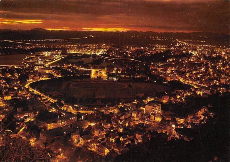Madagascar Antananarivo la nuit Panorama Stadium Night view