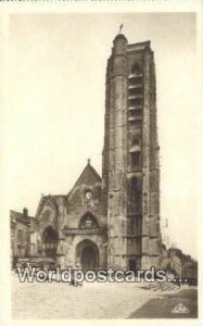 Real Photo - L'Eglise Church Chateau-Thierry, France, Carte, Unused