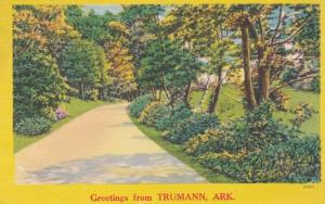 Arkansas Greetings From Trumann 1954