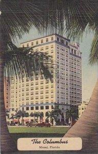 Florida Miami The Columbus Curteich