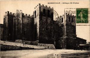 CPA AK MARSEILLE Abbaye St-Victor (404642)