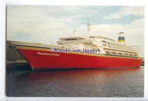 LN1336 - CTC Liner - Southern Cross , built 1972 ex Spirit of London - postcard