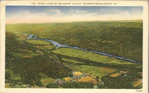 Aerial View of Delaware Valley Golf Course Shawnee-on-Delaware PA Pennsylvania