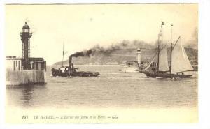 LE HAVRE, L'Entree des Jetees et la Heve, Seine Maritime, France, 00-10s