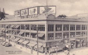 DANBURY , Connecticut, 1900-10s; Exterior, Pershing Buildin