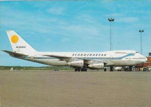 Scandinavian Scanair Boeing747 283B