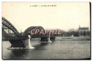 Old Postcard Lyon Loop Bridge