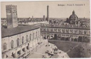 Birds Eye View of Piazza V. Emanuele II, Bologna Italy 1900-10s