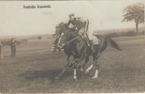 Rennbahn Grunewald , BERLIN , Germany , 1900-10s; Horse racing