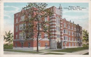 Indiana Terre Haute Women's Hall Indiana State Normal School 1930