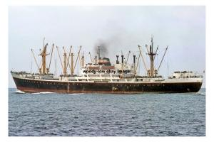 mc4274 - Indonesian Cargo Ship - M H Thamrin , built 1961 - photo 6x4