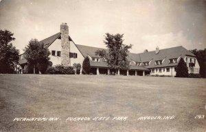 Real Photo Postcard Potawatomi Inn Pokagon State Park in Angola, Indiana~124467