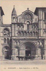 France Bordeaux Eglise Sainte Croix 1922