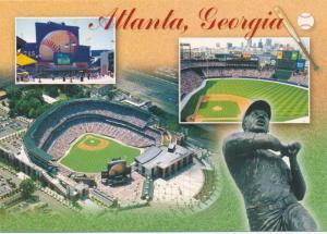Turner Baseball Field - Atlanta GA, Georgia - Hank Aaron Statue