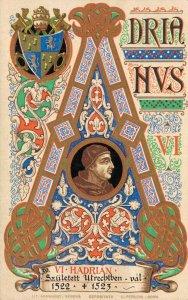 Religion The Vatican City Art Postcard Pope VI Hadrian 06.61