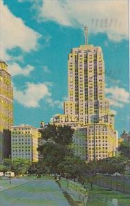 Illinois Chicago Drake Hotel And Palmolive Building North Michigan Avenue 1965