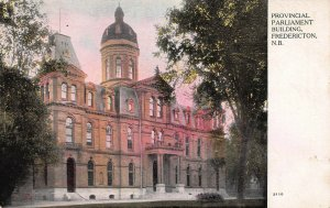 Parliament Building, Fredericton, New Brunswick, Canada, Early Postcard, Unused