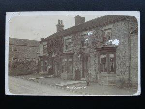 North Yorkshire AMPLEFORTH Carr Ln COTTAGES c1905 RP Postcard by J. Hodgson