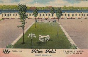 AUSTIN , Minnesota , 30-40s ; Miller Motel
