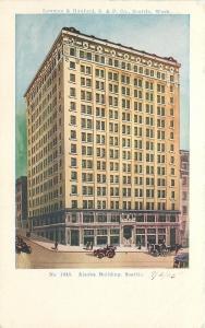 Seattle Washington~Alaska Building~Lowman & Handford Printers~1905 PC