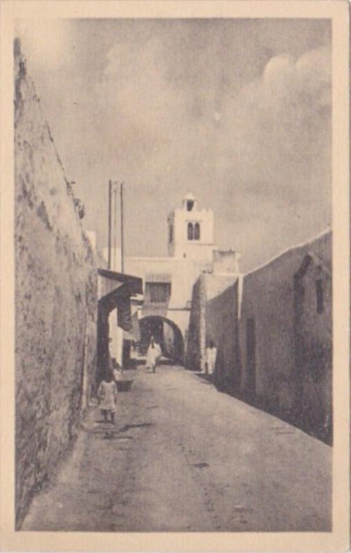 Tunisia Tunis Une Rue Arabe