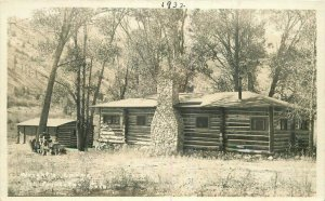 1920s Wrights Lodge Princeton Colorado RPPC Photo Postcard 8033