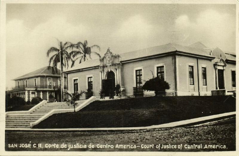 costa rica, SAN JOSE, Corte de Justicia de Centro America (1930s) RPPC