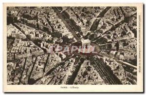 Old Postcard Paris L & # 39etoile