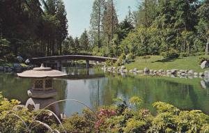 Nitobe Gardens, University of B.C. Grounds, Vancouver,  B.C., Canada,  40-60s
