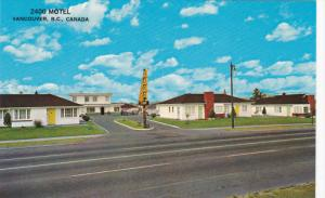 2400 Motel , VANCOUVER , B.C. , Canada , 50-60s #2