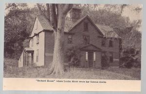 Louis May Alcott's House Concord Massachusets unused c1910's