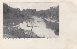 THOMASTON, Connecticut, 1901-07; View Of Nangatuck River