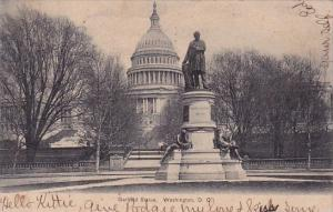 Garfield Statue Washington D C 1907