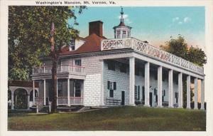 Virginia Mount Vernon Wshington's Mansion