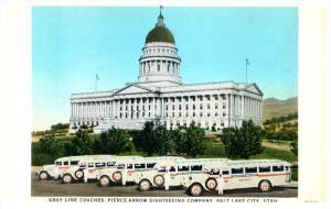Utah Salt Lake  Gray Line coaches, Pierce Arrow Sightseeing Co.