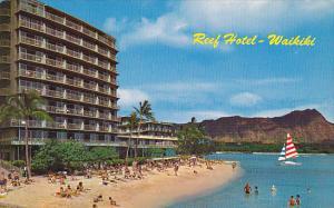 Reef Hotel and Diamond Head Waikiki Beach Hawaii
