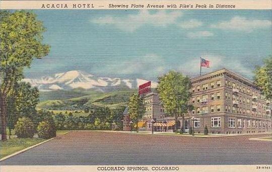 Colorado Colorado Springs Acacia Hotel