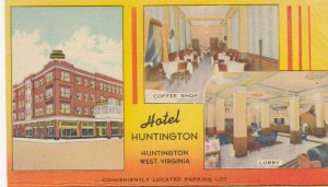 HUNTINGTON , West Virginia , 1930-40s ; Hotel Huntington