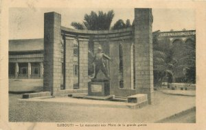 DJIBOUTI - The Monument to the Dead of the Great War