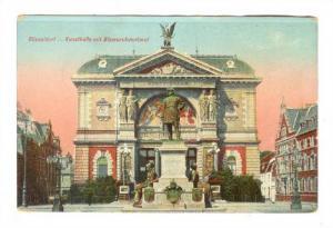 Kunsthalle Mit Bismarckdenkmal, Dusseldorf (North Rhine-Westphalia), Germany,...