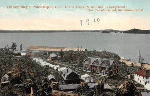 br105842 british columbia  prince rupert grand trunk pacific hotel  canada