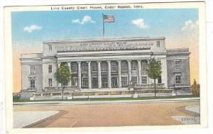 Exterior, Linn County Court House, Cedar Rapids,Iowa,00-10s