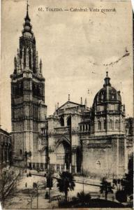 CPA Toledo Catedral, Vista general SPAIN (743828)